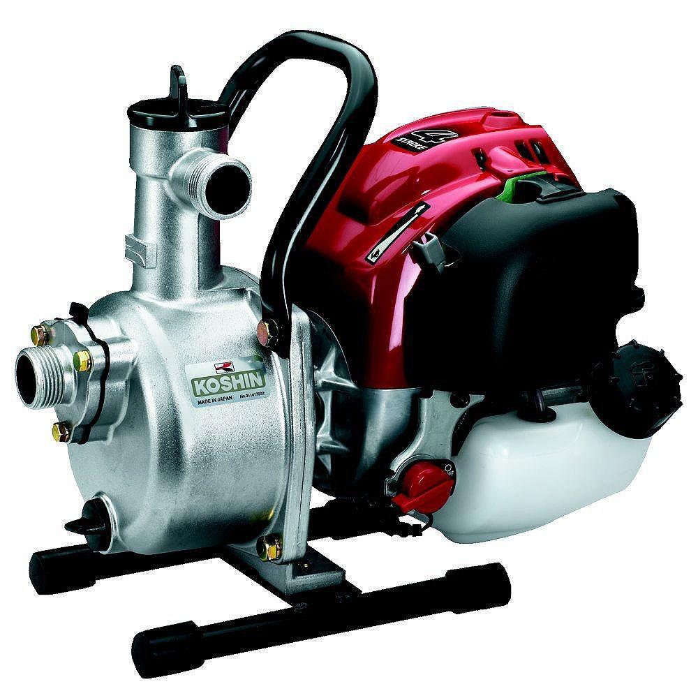 Koshin Pompe centrifuge koshin seh-25l avec un kit de tuyau pour pompe à eau de 1 pouce