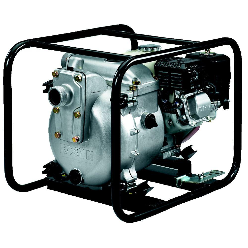 Koshin Pompe de vidange koshin kth-50x avec un kit de tuyau pour pompe à eau de 2 pouces
