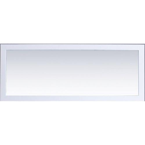 Miroir Buckingham 60 po - Blanc