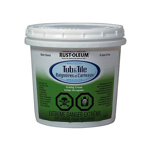 Crème Décapante Pour Baignoires Et Carreaux En Blanc Lustré - 946 Ml