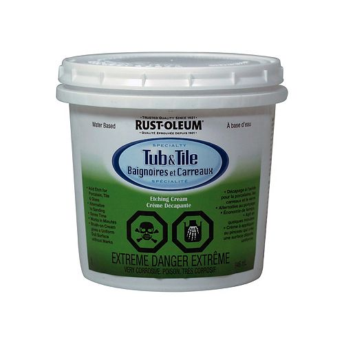 Tub & Tile Etching Cream In Gloss White, 946 Ml