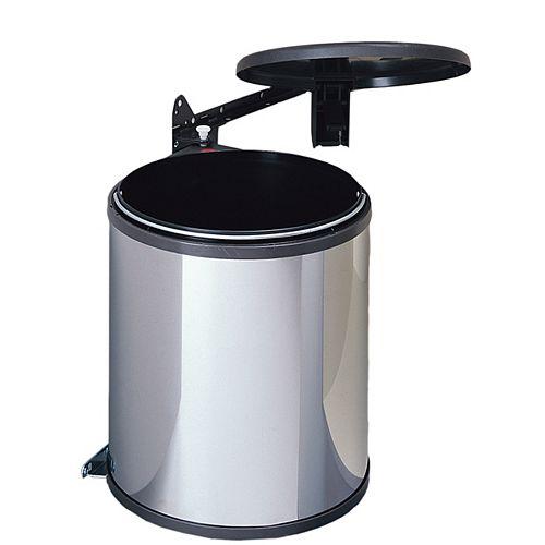Aluminium waste bin