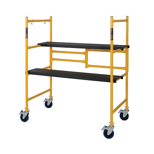 4 ft. Steel Folding Scaffold & Work Platform / 500 Lbs.