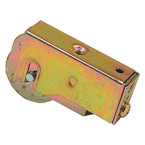 Assemblage de roulettes de porte coulissante, Roulement à bille en acier.de 1/2 po.