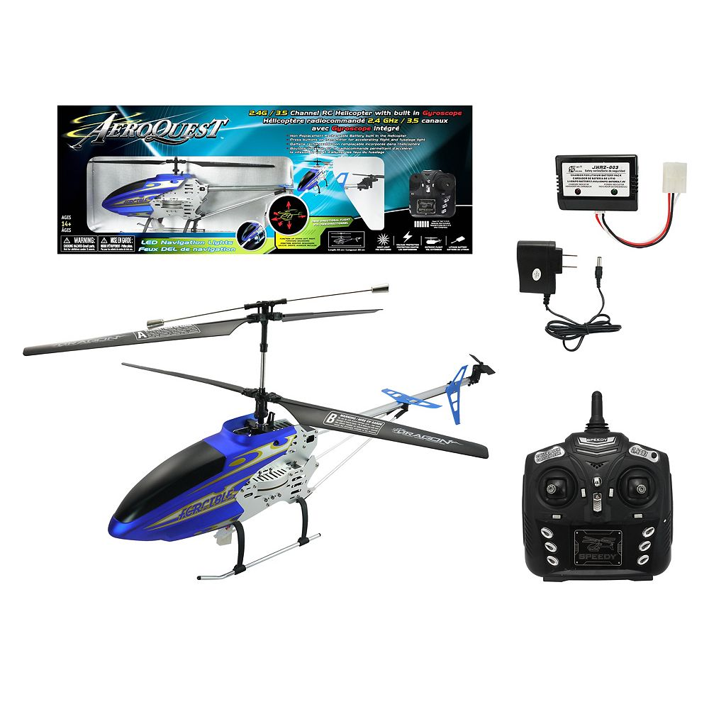Licensed 2.4g 3.5 Channel Radio Control Helicopter