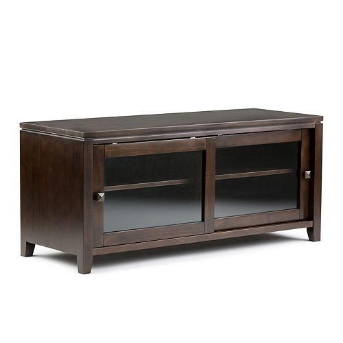Cosmopolitan 48-inch x 21-inch x 17.5-inch TV Stand in Brown