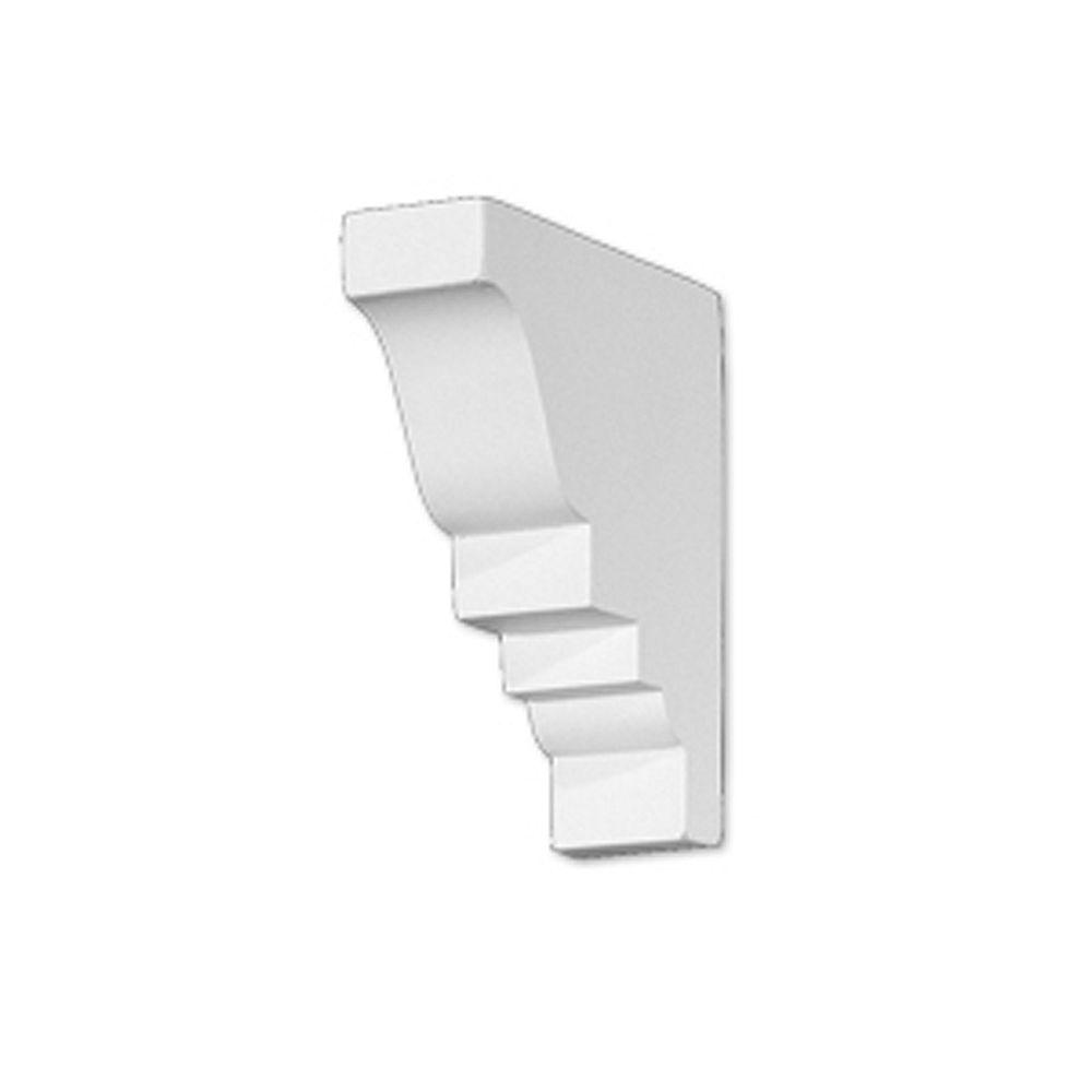 Fypon 4 11/16-inch x .1 1/4-inch x 4 1/16-inch Polyurethane Mouldings Divider Block