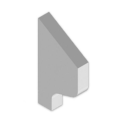5-9/16 Inch x 10-3/8 Inch x 1-1/2 Inch Primed Polyurethane Bracket