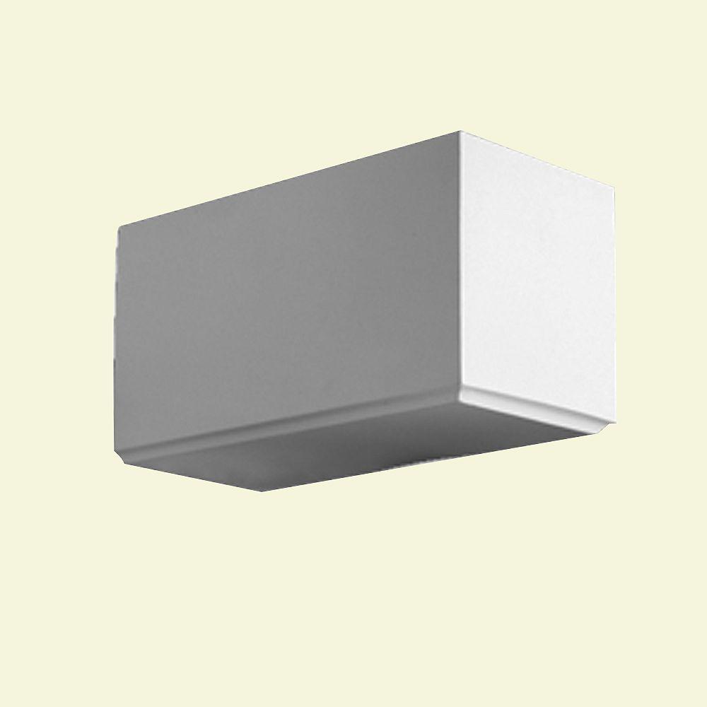 Fypon 5-inch x 0-inch x 5 1/2-inch Polyurethane Dentil Block