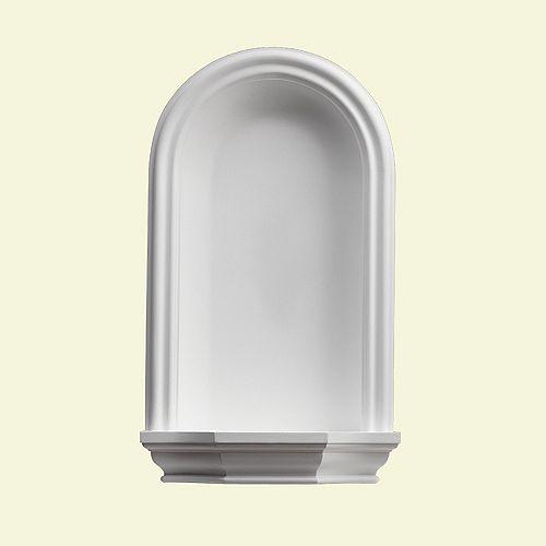 46-inch x 26-inch x 4 1/2-inch Primed Polyurethane Wall Niche