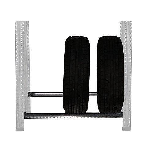 Niveau de râtelier à pneus Metalsistem 48 po largeur