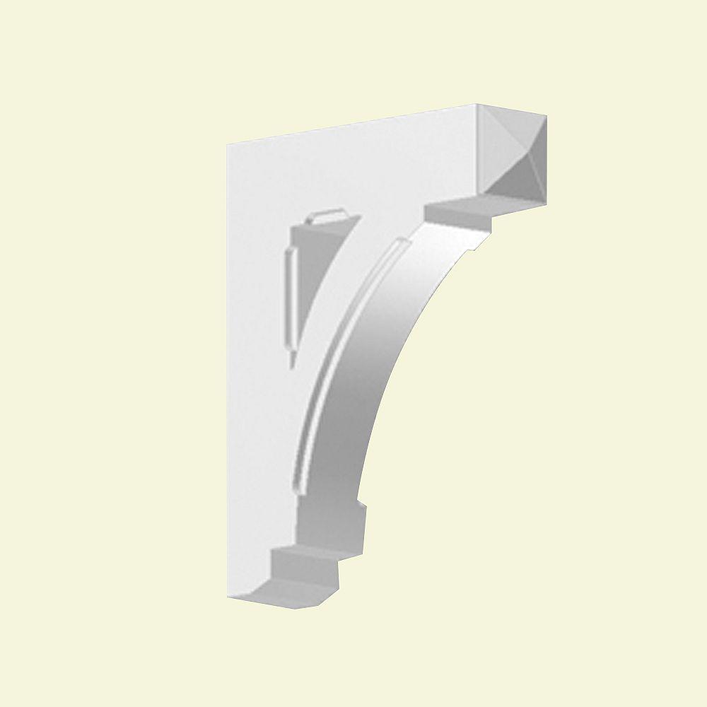 Fypon 20-inch x 5-inch x 24-inch Primed Polyurethane Bracket