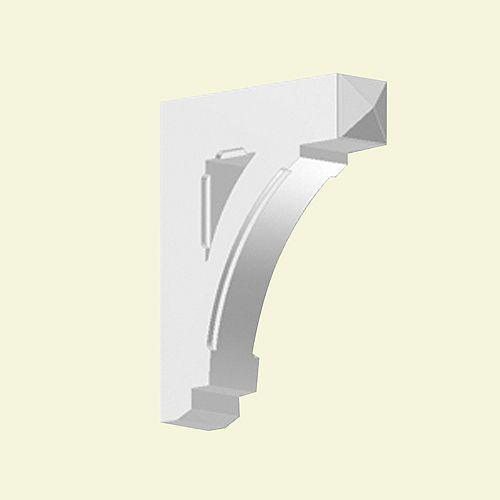 20-inch x 5-inch x 24-inch Primed Polyurethane Bracket