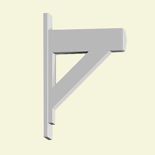 20-inch x 5 1/2-inch x 30-inch Primed Polyurethane Bracket