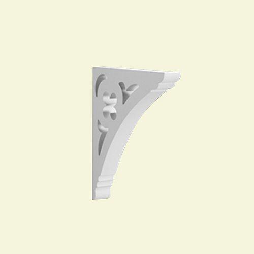 21 3/4-inch x 3-inch x 21 1/2-inch Primed Polyurethane Bracket