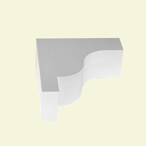 22 1/2-inch x 8 1/2-inch x 26-inch Primed Polyurethane Bracket