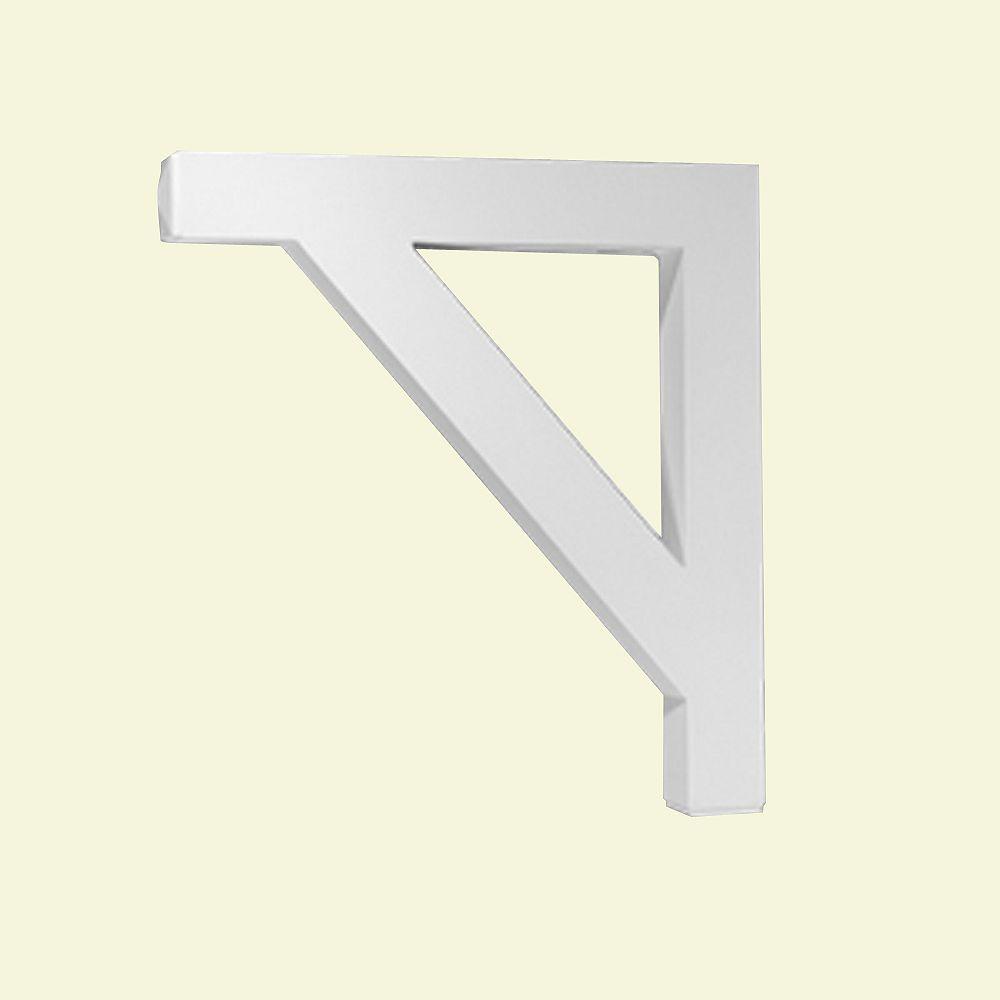 Fypon 25-inch x 3 1/2-inch x 27 1/2-inch Primed Polyurethane Bracket