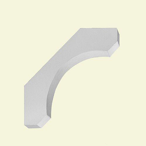 30-inch x 6 7/8-inch x 30-inch Primed Polyurethane Bracket