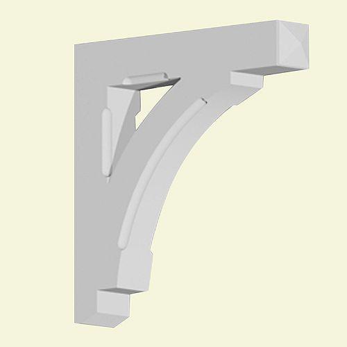 31-inch x 5-inch x 30-inch Primed Polyurethane Bracket