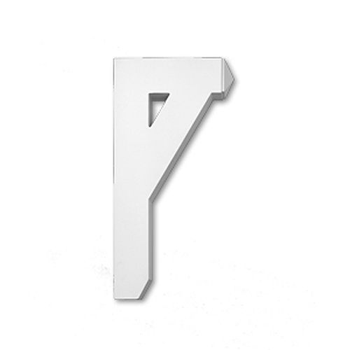 12-inch x 3 1/2-inch x 24-inch Primed Polyurethane Bracket Moulding