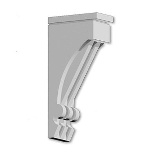 14 1/4-inch x 30-inch x 7 1/2-inch Primed Polyurethane Bracket