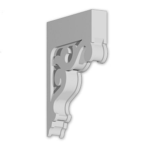 16 13/32-inch x 22 21/32-inch x 3 1/2-inch Primed Polyurethane Bracket