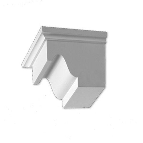 4-inch x 5 1/16-inch x 7 1/4-inch Primed Polyurethane Dentil Block