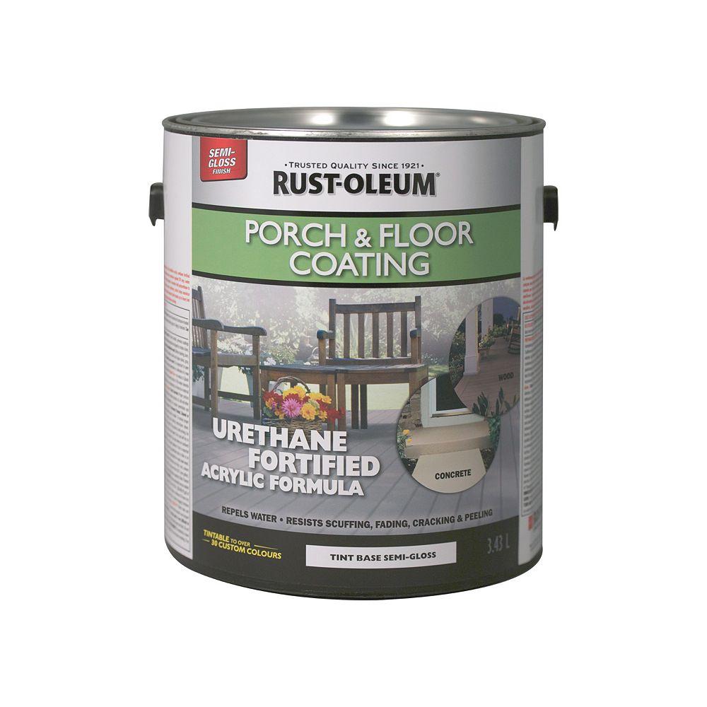 Rust-Oleum Porch & Floor Coating Semi-Gloss Tint Base, 3.43 L