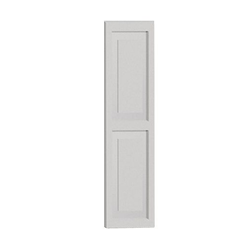 65 Inch x 16 Inch x 1-1/4 Inch Double Raised Panel Smooth Shutter