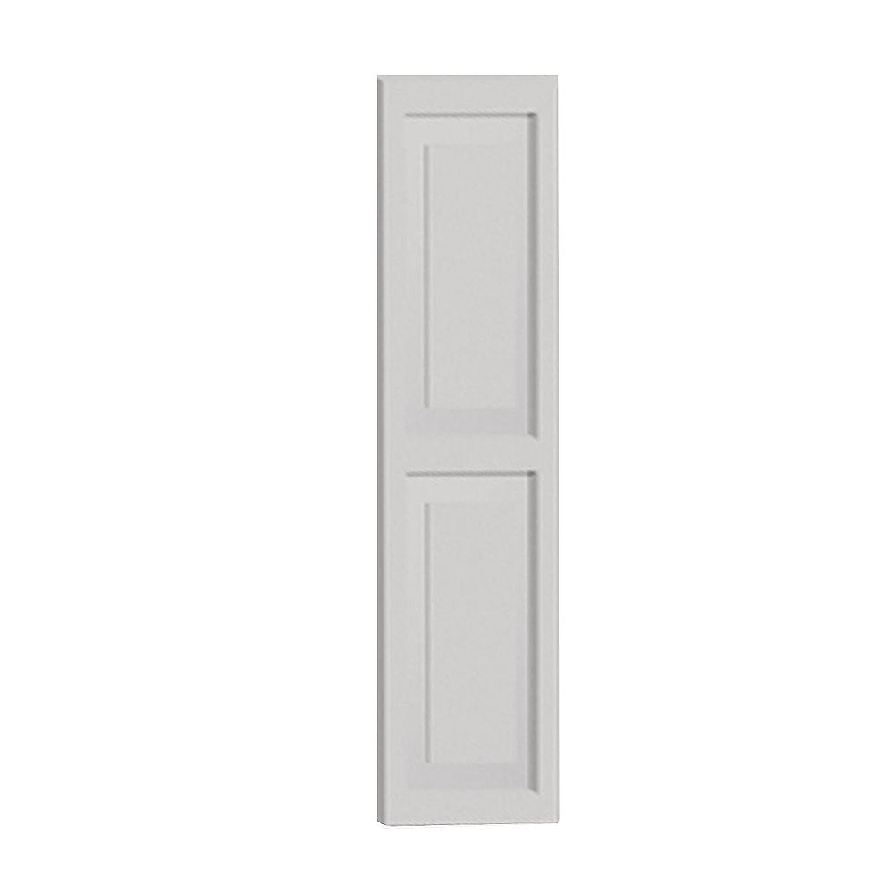 Fypon 72 Inch x 16 Inch x 1-1/4 Inch Double Raised Panel Smooth Shutter