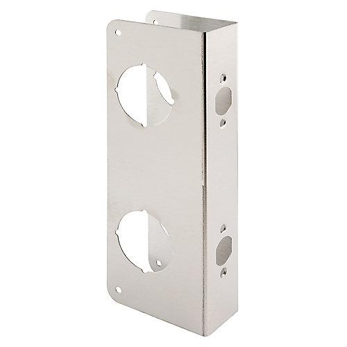 Cornière de porte, 5-1/2 po, 2-3/8 po X 1-3/4 po, en acier inoxydable