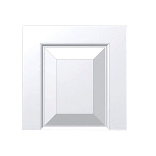 16 Inch x 12 Inch x 1-1/4 Inch Raised Panel Tran Accessory Smooth Transom Tops Shutter