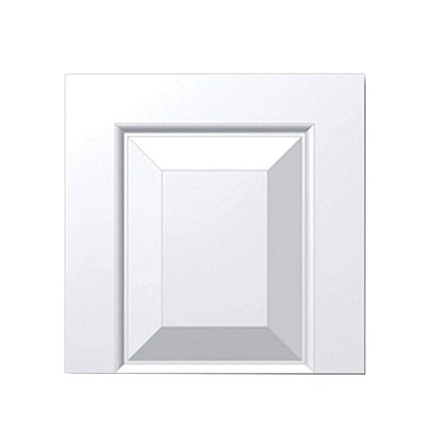 18 Inch x 12 Inch x 1-1/4 Inch Raised Panel Tran Accessory Smooth Transom Tops Shutter