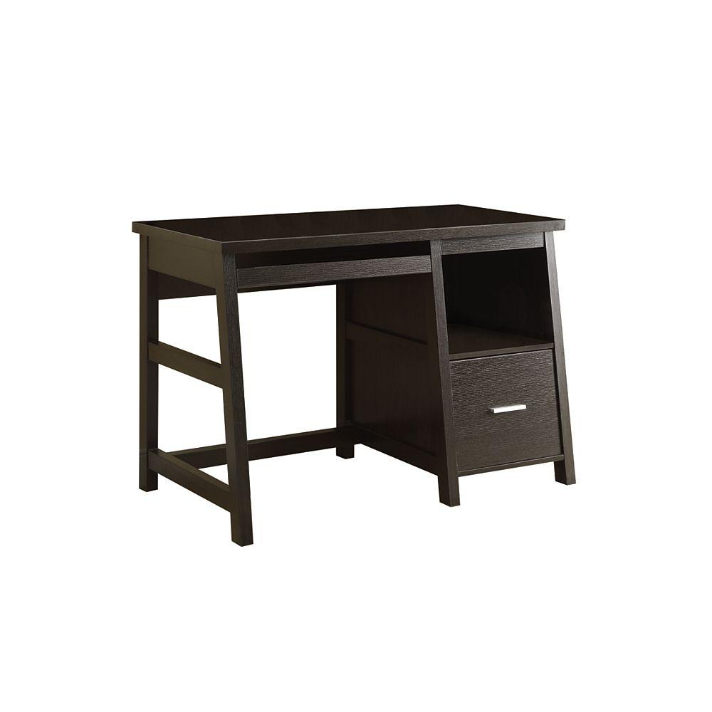 Monarch Specialties Standard Computer Desk in Brown