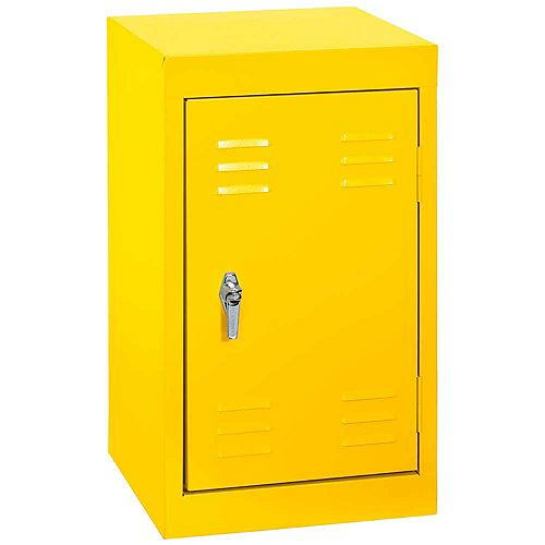 15 Inch L x 15 Inch D x 24 Inch H Single Tier Welded Steel Locker in Sunshine