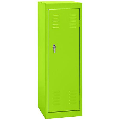 15 po L x 15 po P x 48 po H Single Tier soudés en acier Locker en vert électrique
