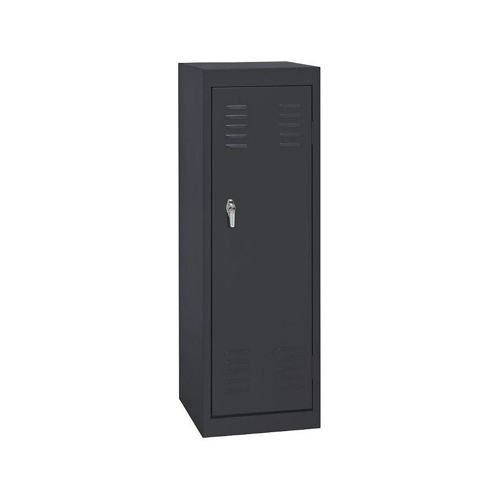 Sandusky 15 Inch L x 15 Inch D x 48 Inch H Single Tier Welded Steel Locker in Black
