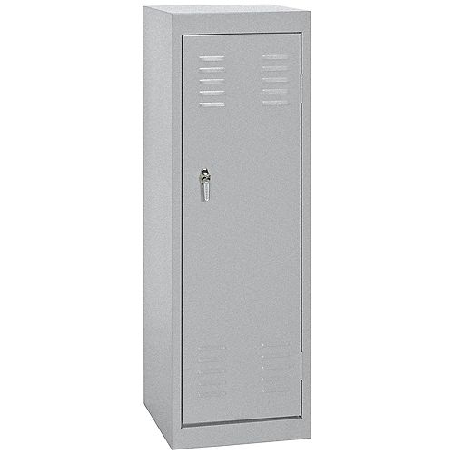 15 Inch L x 15 Inch D x 48 Inch H Single Tier Welded Steel Locker in Multi Granite