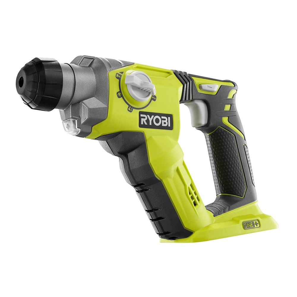 RYOBI 18V ONE+ 1/2-inch Cordless SDS-Plus Rotary Hammer Drill (Tool Only)