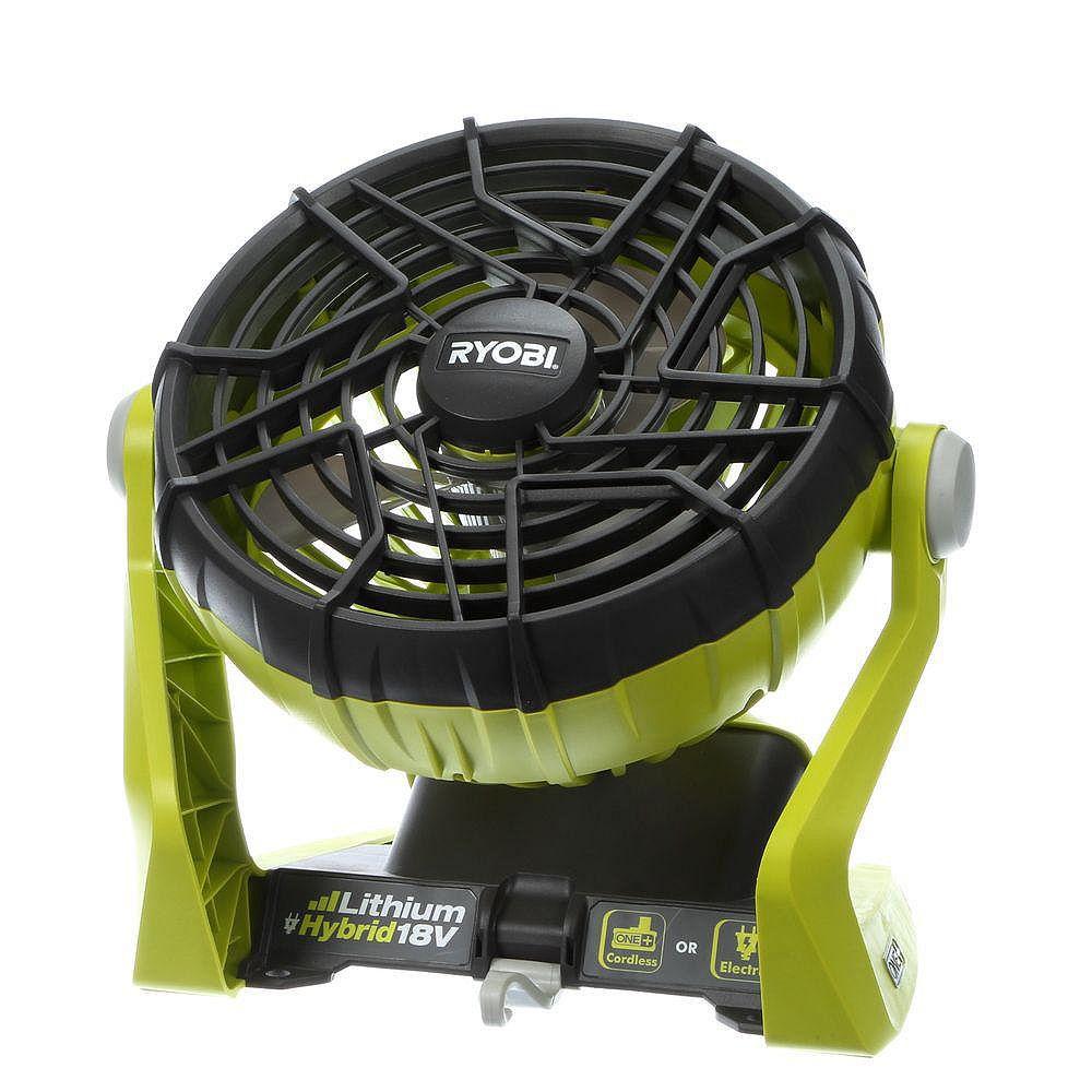 RYOBI 18V ONE+ Hybrid Portable Fan (Tool Only)
