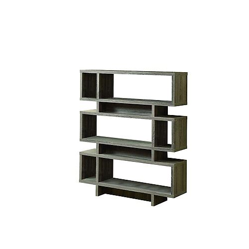 """Etagere - 55""""H / Style Moderne Taupe Fonce"""
