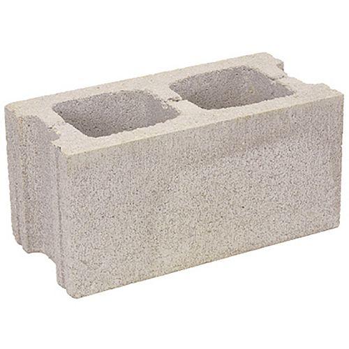 Bloc, béton, standard, 200 mm x 200 mm x 400 mm