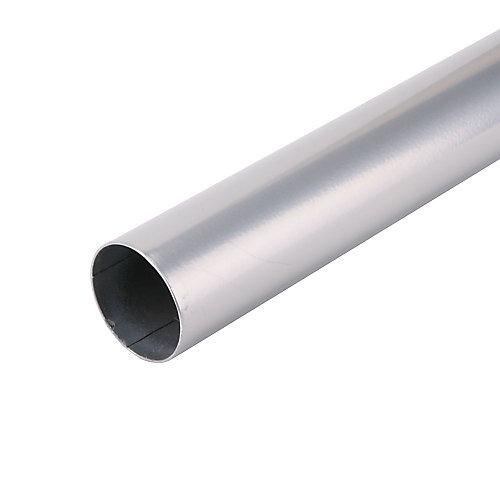 72-inch Closet Rod in Platinum