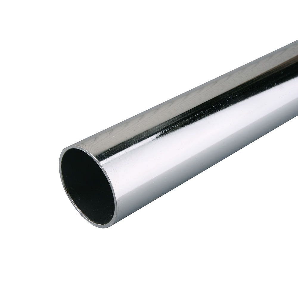 Everbilt 96 Inch Heavy Duty Closet Rod In Chrome The Home Depot Canada
