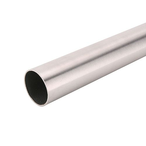 Everbilt 96-inch Heavy Duty Closet Rod in Nickel