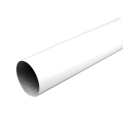 96-inch Closet Rod in White