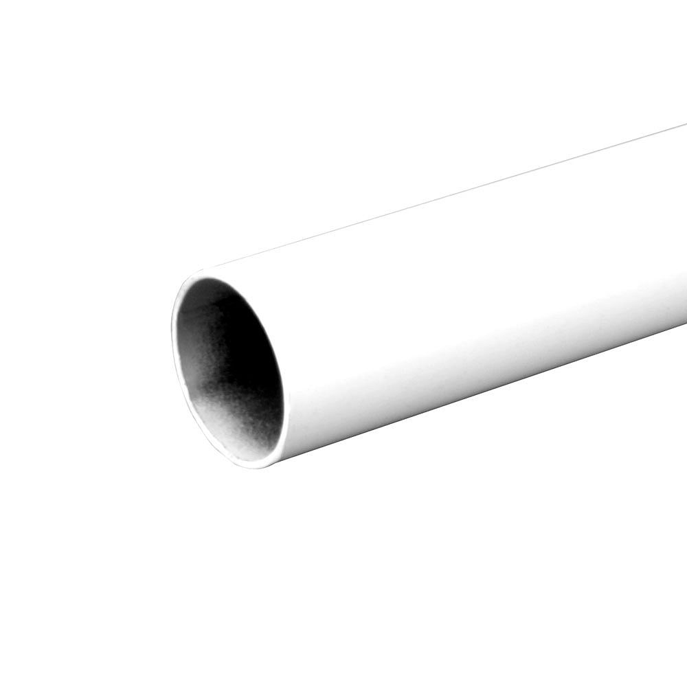 Everbilt 96-inch Heavy Duty Closet Rod in White