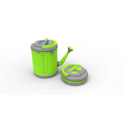 Colpaz Collapsible Watering Can in Lime Green