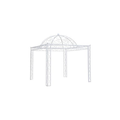 Holly Hill 10 ft. x 10 ft. Pavilion in Antique White