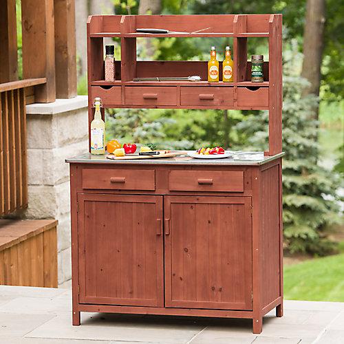 Outdoor Kitchen Prep Station